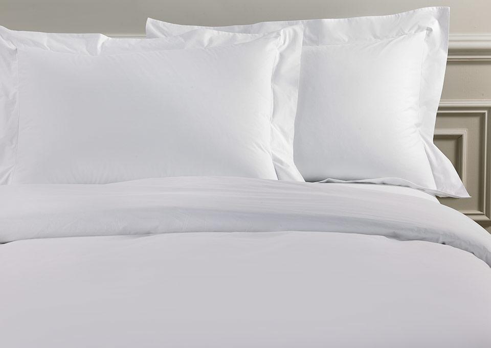White Deluxe Duvet Cover Pillow Sham Set Shop Cotton Hotel Linens From Sofitel Boutique