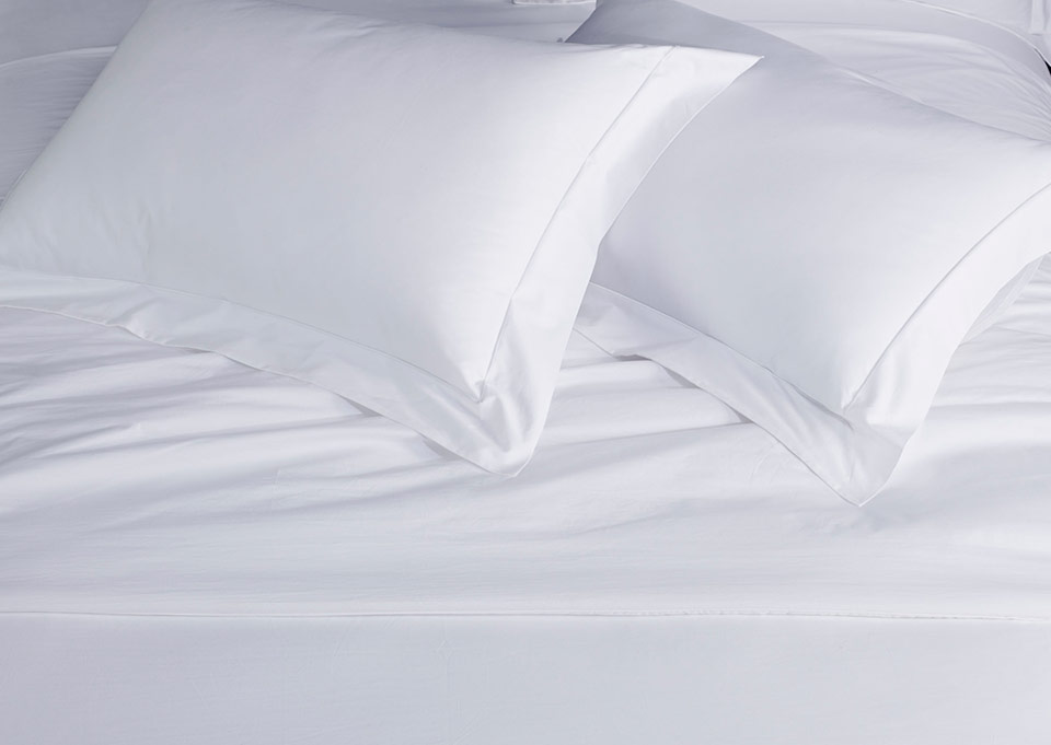 White Percale Pillow Shams By Sofitel Shop 100 Cotton Hotel Duvet Cover Pillowcases And More