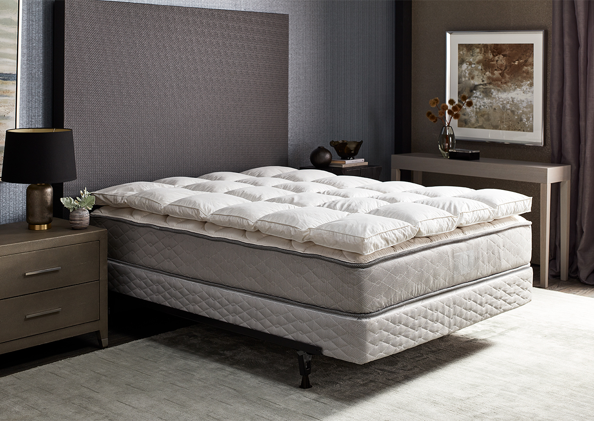 Featherbed Shop Hotel Bedding Plush Bed Toppers And Linens From